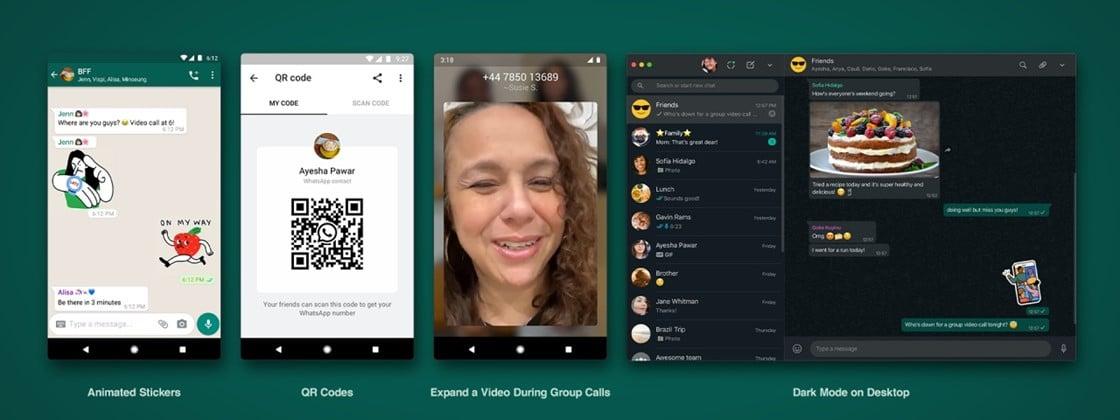 WhatsApp lança figurinhas animadas, QR Code e outras novidades