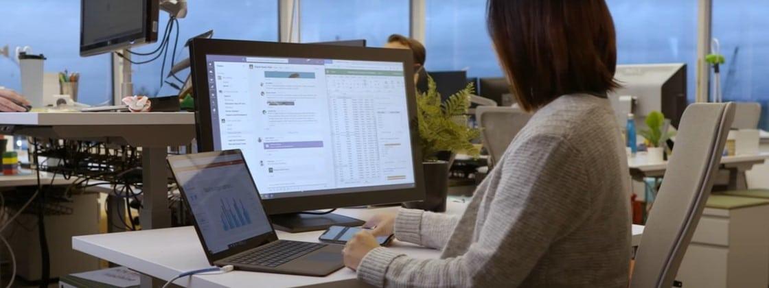 Microsoft Teams deixará você entrar em reuniões usando duas telas